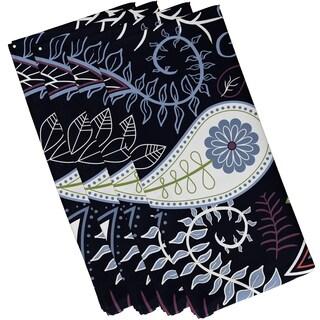 Paisley Floral Print Napkins