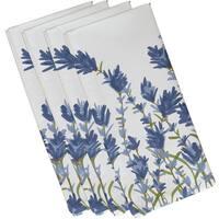 Lavender Floral Print Napkins