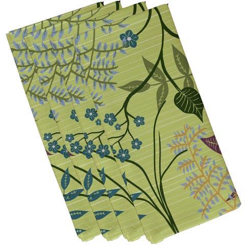 Botanical Floral Print Napkins