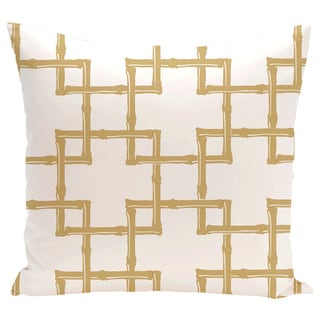 Bambies 2 Geometric Print 20-inch Pillow