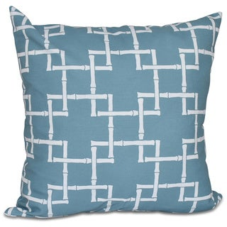 Bambies 1 Geometric Print 20-inch Pillow
