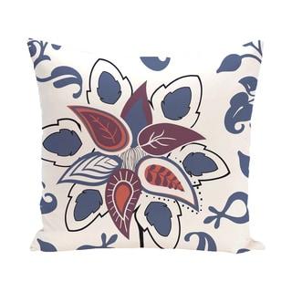 Floral Paisley Pop Print Pillow