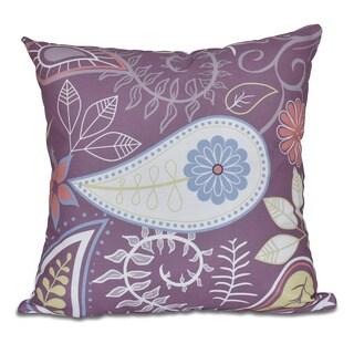Paisley Floral Print Pillow