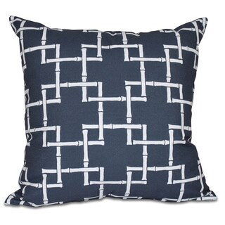 Bambies 1 Geometric Print 16-inch Pillow
