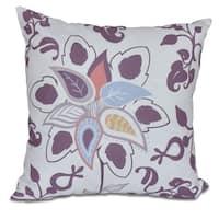Paisley Pop Floral Pillow