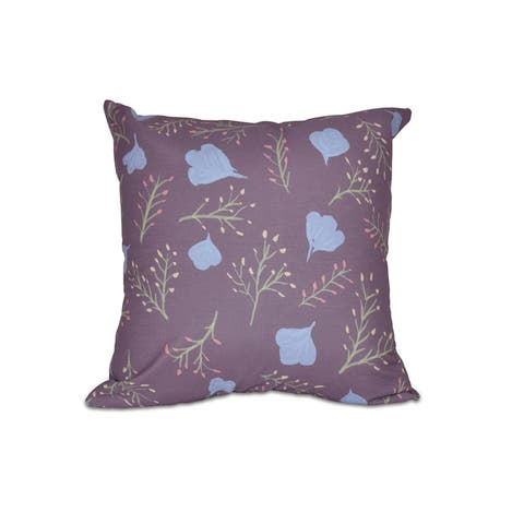 Floral Spring Blooms Pillow