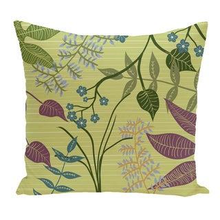 Floral Botanical Pillow