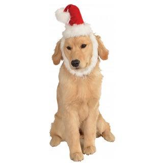 Rubies Pet Santa Hat with Beard