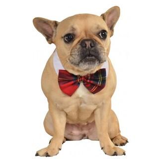 Rubies Plaid Pet Bow Tie