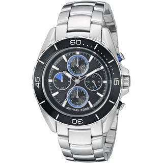 Michael Kors Men's MK8462 'Jetmaster' Chronograph Stainless Steel Watch|https://ak1.ostkcdn.com/images/products/10756857/P17810346.jpg?impolicy=medium