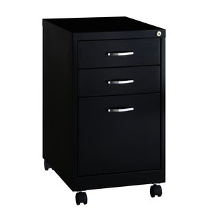 BBF SOHO Pedestal 19-inch Deep 3-drawer Office File Cabinet