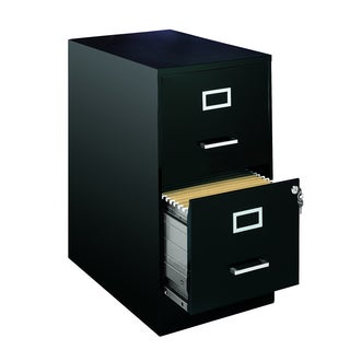 Office Designs 22 Inch Deep 2-Drawer Steel File Cabinet
