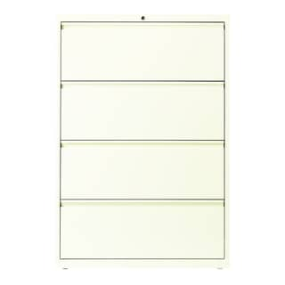 Hirsh HL10000 Series 36-inch Wide 4-drawer Commercial Lateral File Cabinet