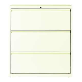 Hirsh HL10000 Series 36-inch 3-drawer Commercial Lateral File Cabinet