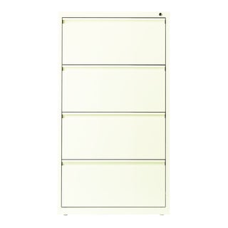 Hirsh HL10000 Series 30-inch 4-drawer Commercial Lateral File Cabinet