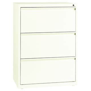 Hirsh HL10000 Series 30-inch 3-drawer Commercial Lateral File Cabinet