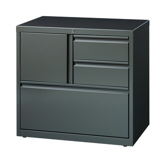 Hirsh HL8000 Medium Grey Tone Personal Storage Center 30-inch Lateral File Cabinet