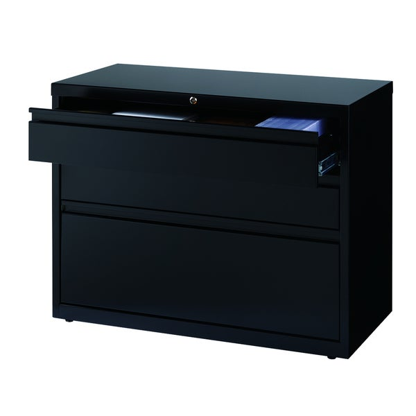 Hirsh HL Drawer Lateral Inch Storage File Cabinet Free - 36 desk with drawers