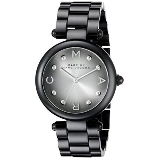 Marc Jacobs Women's MJ3450 'Dotty' Black Stainless Steel Watch
