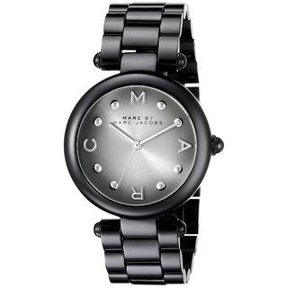 Marc Jacobs Women's MJ3450 'Dotty' Black Stainless Steel Watch