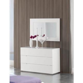 Luca Home Dresser/ Mirror Combination White