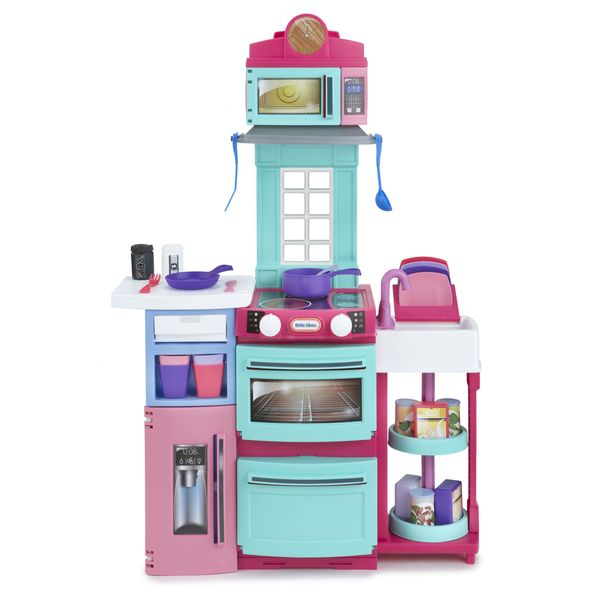 Little Tikes Girls Pink Cook 'n Store Kitchen