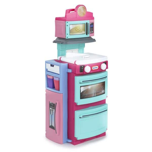 Shop Little Tikes Girls Pink Cook \'n Store Kitchen - Free ...
