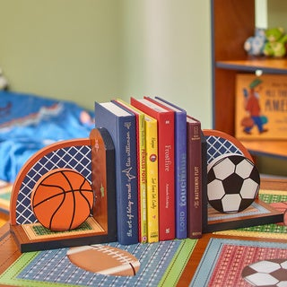 Teamson Fantasy Fields Lil' Sports Fan Bookends Set