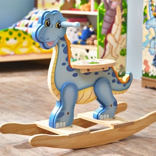Shop Teamson Fantasy Fields Dinosaur Kingdom Rocking Horse