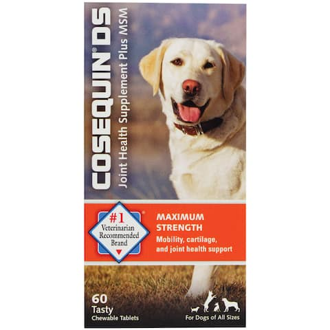 Cosequin DS with MSM for Dogs, 60 Chewable Tablets