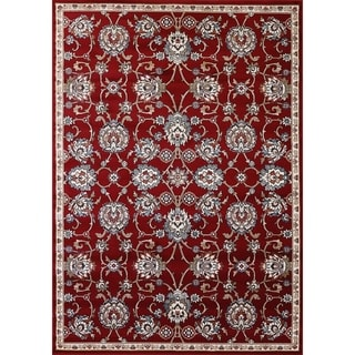 Cappella Traditional Medallion Red Area Rug (2'2 x 10'10)