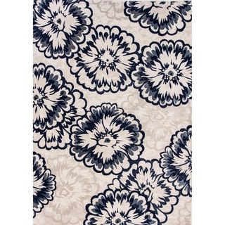 Cappella Floral Ivory Area Rug (2'2 x 10'10)