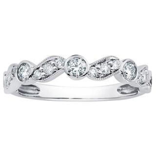 Boston Bay Diamonds 14k Gold 1/2ct TDW Prong and Bezel-set Diamond Fashion Ring (H-I, SI2-I1)
