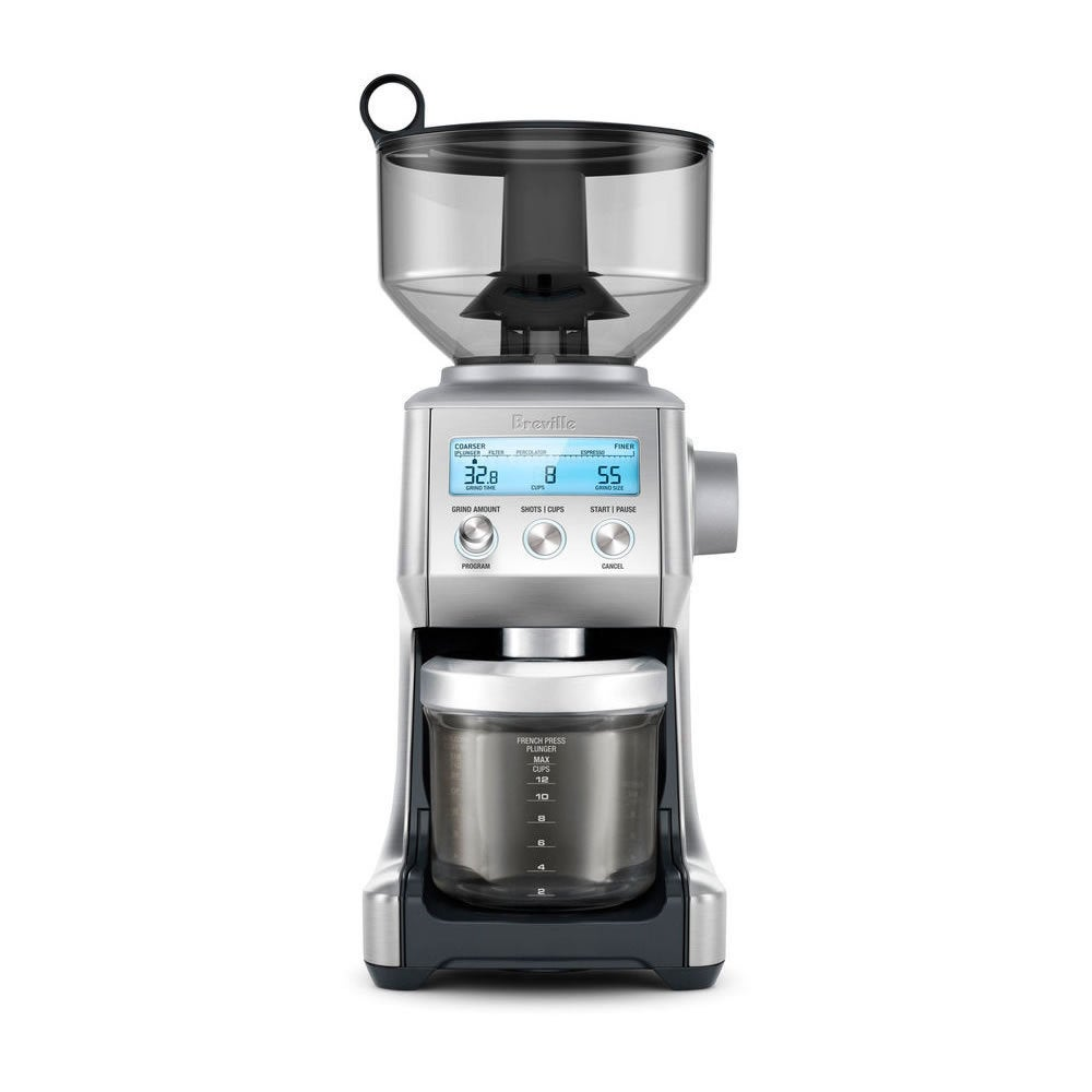 Breville BCG820BSS Brushed Stainless Steel (Silver) Smart...
