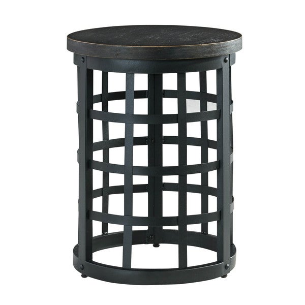 Signature Design By Ashley Brookfield Brown Round End: Shop Signature Design By Ashley Marimon Black Round End