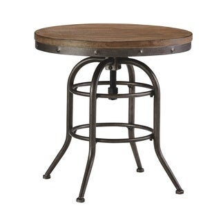 Signature Design by Ashley Vennilux Grayish Brown Round End Table