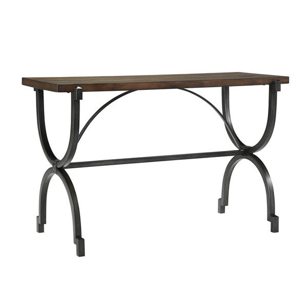 Shop Signature Design By Ashley Baybrin Rustic Brown Sofa Table
