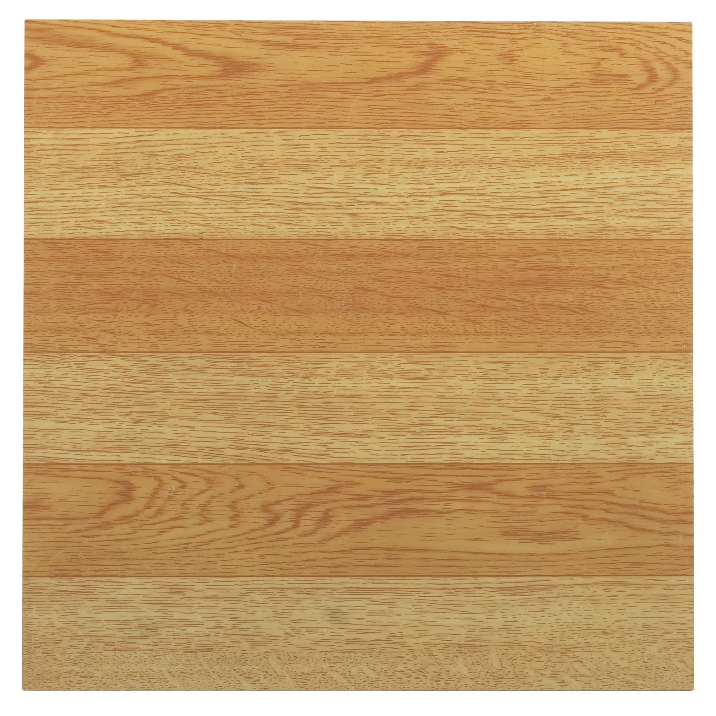 Achim Tivoli Light Oak Plank-Look 12x12 Self Adhesive Vin...