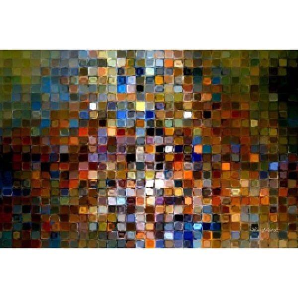 Mark Lawrence X27 Tile Art 1 2007 Modern Mosaic