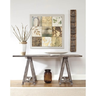 Signature Design by Ashley Vennilux Light Brown Console