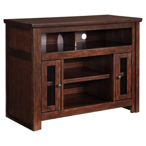 Harpan Traditional TV Stand Reddish Brown