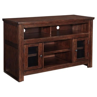 Signature Design by Ashley Harpan Reddish Brown Medium TV Stand