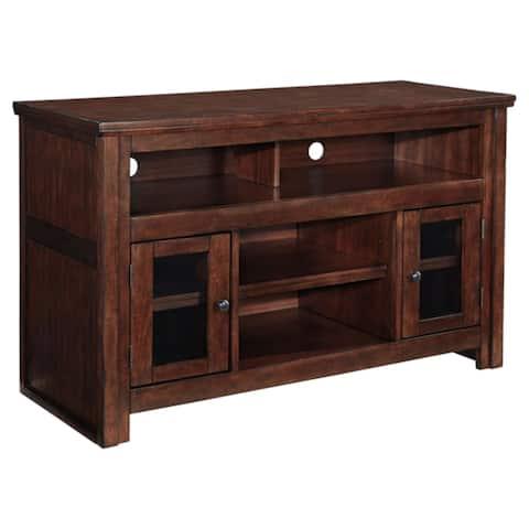 Harpan Traditional Medium TV Stand Reddish Brown
