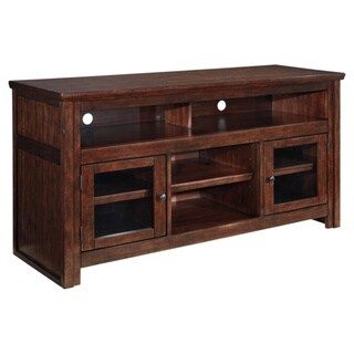 Signature Design by Ashley Harpan Reddish Brown Large TV Stand