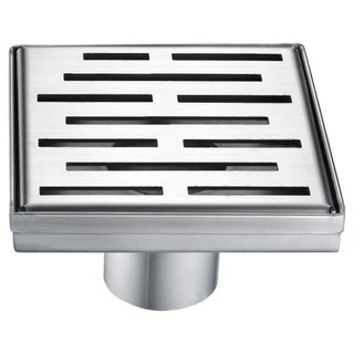 Dawn Amazon River Series - Square Shower Drain 5-inch (Stamping technique & press in the base)