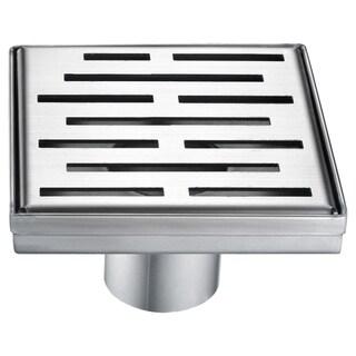 Dawn Amazon River Series - Square Shower Drain 5-inch (Stamping technique & press in the base)
