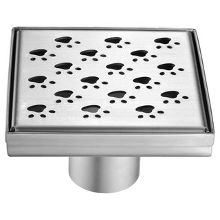 Dawn Memuru River Series 5-inch Square Shower Drain