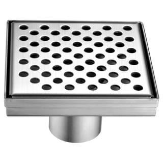 Dawn Rhone River Series 5-inch Square Shower Drain