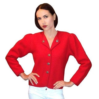 Dolores Piscotta Bavarian Boiled Wool Jacket