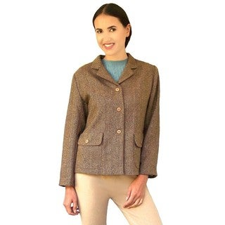 Dolores Piscotta Women's Herringbone Riding Jacket